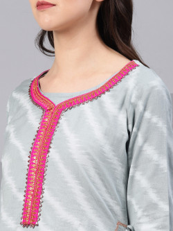 Indian Ethnic Wear Dress - Buy Traditional Lava Blue Indian Ethnic Dress For Womens in India | Ethnicbazaar