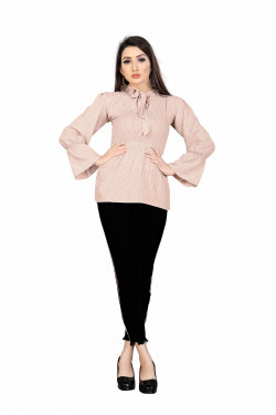 Womens Western Wear Online - Buy Latest Western Wear Pink Tops in India | Ethnicbazaar