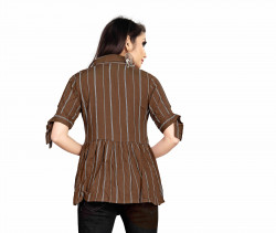 Womens Western Wear Online - Buy Latest Western Wear Maroon Tops in India | Ethnicbazaar