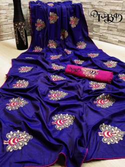 Buy Designer BlueSarees For Womens Online in India at Ethnic Bazaar