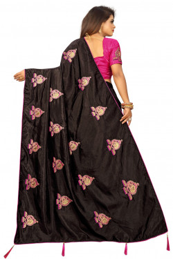 Buy Designer Brown Georgette Sarees For Womens Online in India at Ethnic Bazaar
