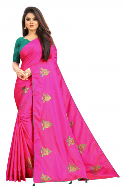 Buy Designer Pink Georgette Sarees For Womens Online in India at Ethnic Bazaar